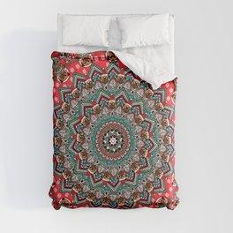Mandala Christmas Pug Comforters