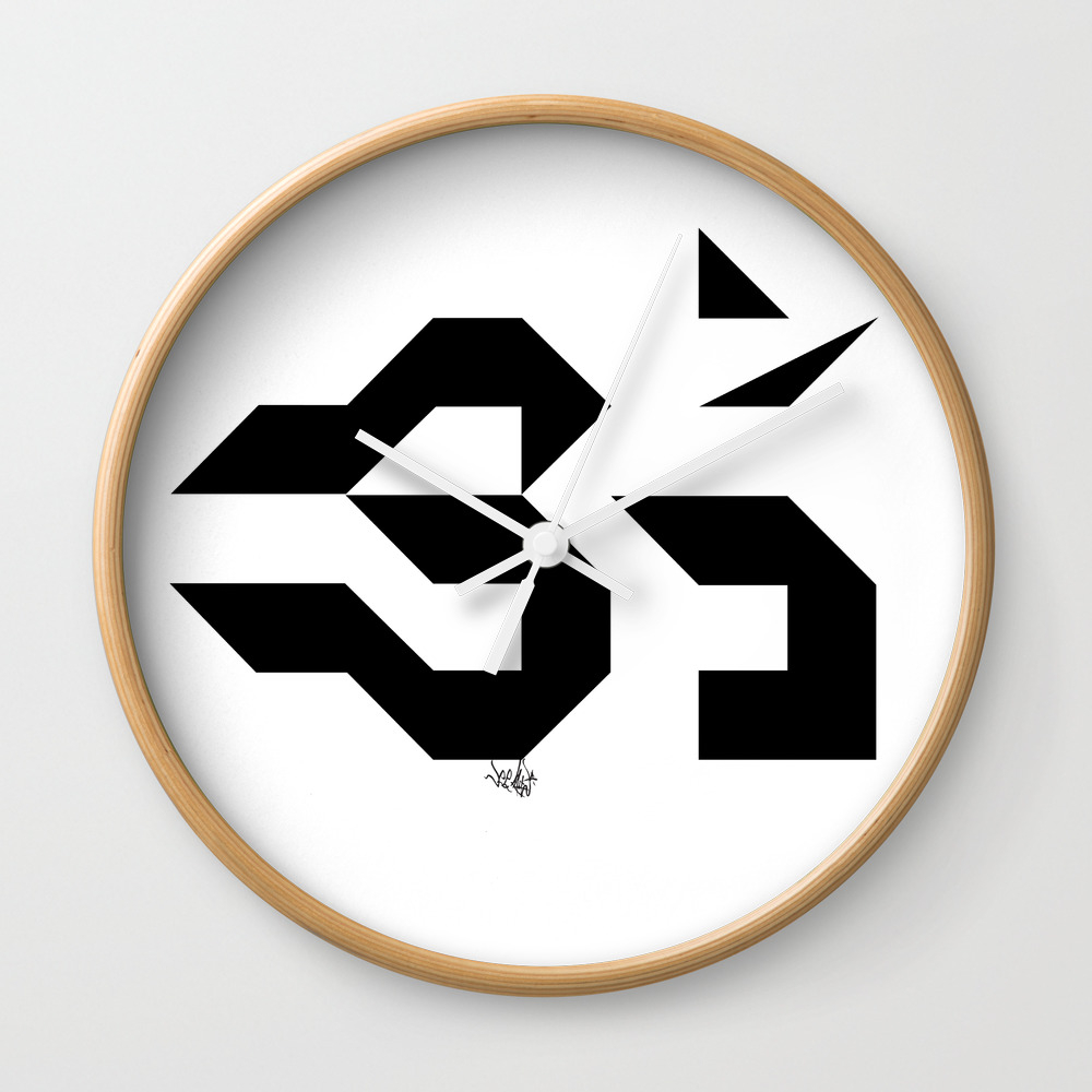 Om - Sweet Vibrations Wall Clock by Veeladwa CLK775159