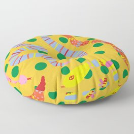 Polka Dot Snake Party Floor Pillow