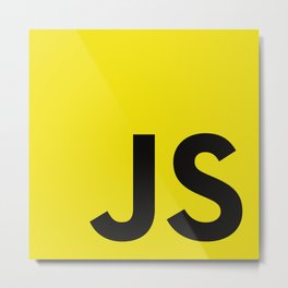 Javascript Metal Print