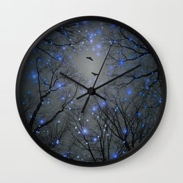 The Sight of the Stars Makes Me Dream Wall Clock