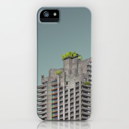 LND CLR X-5 London Colour Architecture Art iPhone Case