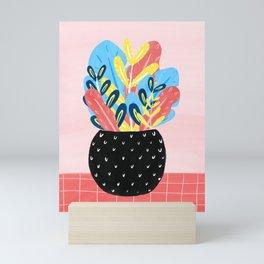 Pastel Florals Mini Art Print
