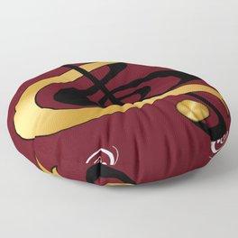 Golden Treble Floor Pillow