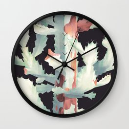 Euphorbea Lactea : White Ghost Wall Clock
