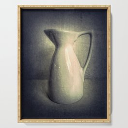 Still Life Photography Pitcher Modern Country Cottage Art A436 Serving Tray