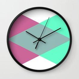 Color Mixer Wall Clock