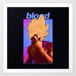 Blond Like a Super-Saiyan Art Print