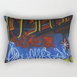 NEON CITY Rectangular Pillow