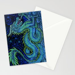 Chinese Azure Dragon Stationery Cards