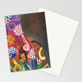 Musical Queen Stationery Cards