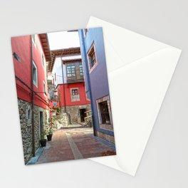 Ribadesella streets 1 Stationery Cards