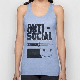 Antisocial Unisex Tank Top