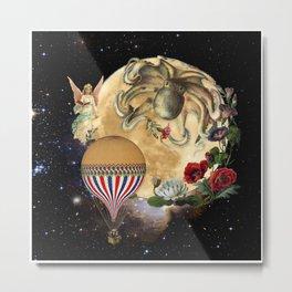 Moonpie Octupie Metal Print