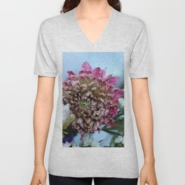 Dry Flower - Three Unisex V-Neck