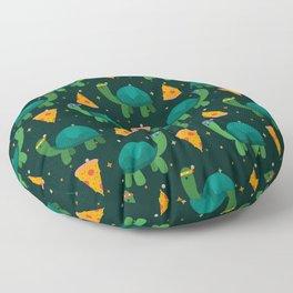 Turtles & Pizza Floor Pillow