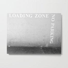 Loading Zone Metal Print