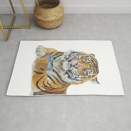 Too Early Tiger Rug