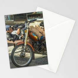 Moped Siesta  Stationery Cards