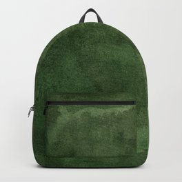 Green Watercolor Texture Backpack