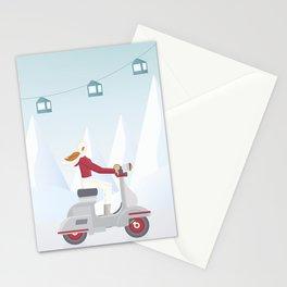 Ski Trip Stationery Cards