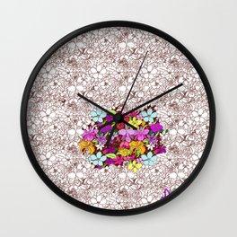 renacimiento de color Wall Clock