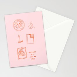 portrait of a lady on fire vi Stationery Cards