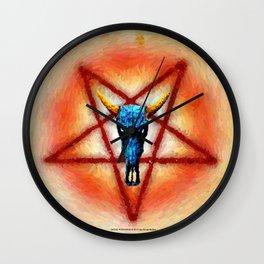 NATIVE PENTAGRAM - 018 Wall Clock