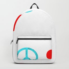 Blobfish Peace Love Backpack