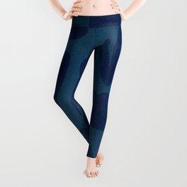 Blue and powerful design Leggings