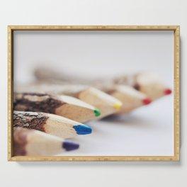 Pencils Serving Tray