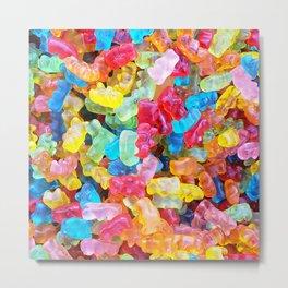 Gummy Bear Don't Care Metal Print
