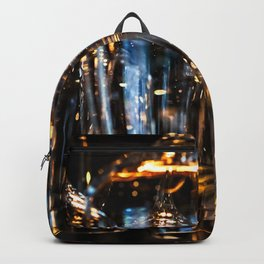Play Of Light Of Wineglasses Backpack
