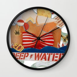 Deep Waters Wall Clock