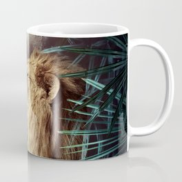 Lion in the Jungle Coffee Mug