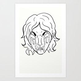 Emotional: Anastasia Art Print