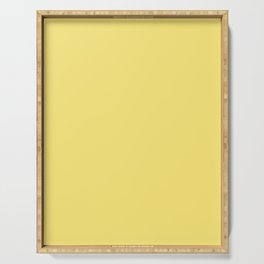 Palette . Warm yellow Serving Tray