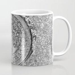 New Orleans Water Meter Louisiana Crescent City NOLA Water Board Metalwork Grey Silver Coffee Mug