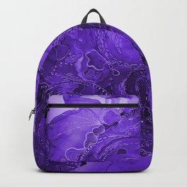Purple Pensive Backpack