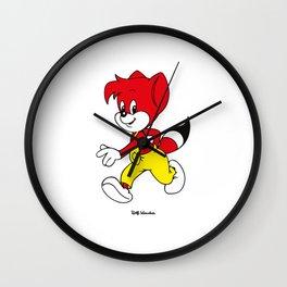 Fix (Fix&Foxi) Wall Clock