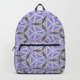 Purple Peacock Pattern Backpack