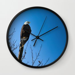 Eagle Wall Clock