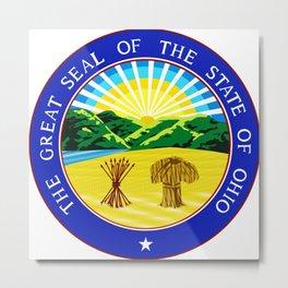 Ohio seal Metal Print