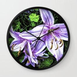 Peaceful Renderings Wall Clock
