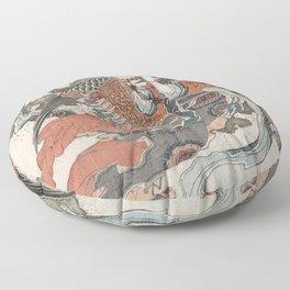 Mystical Bird Floor Pillow