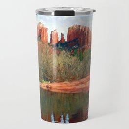 Healing Waters of Cathedral Rock Travel Mug