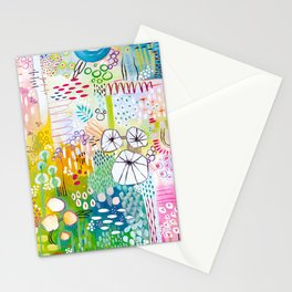 On A Sunny Day - A Garden By The Sea Stationery Cards