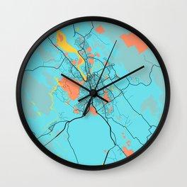 Launceston - Australia Gloria City Map Wall Clock