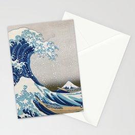 Under the Wave off Kanagawa - The Great Wave - Katsushika Hokusai Stationery Cards