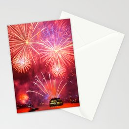 Fireworks on Sydney Harbour Stationery Cards